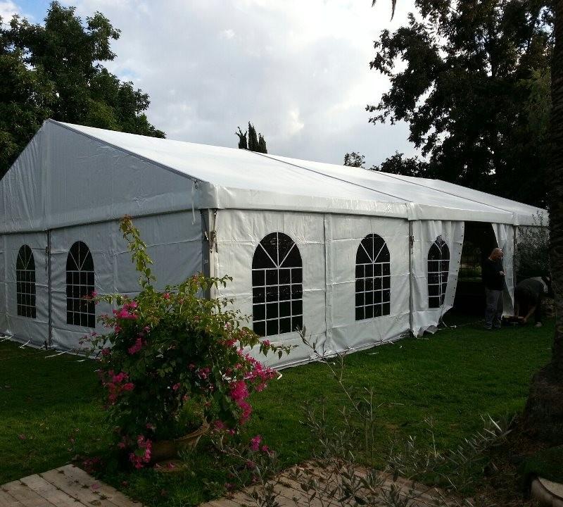 אוהל לבן