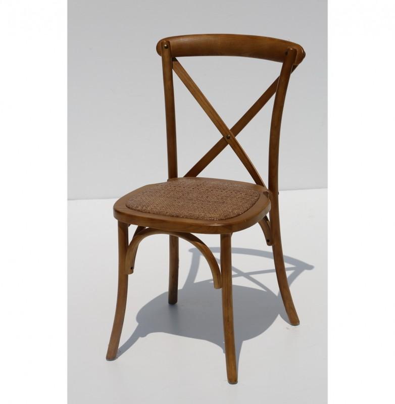 כסא איקס עץ