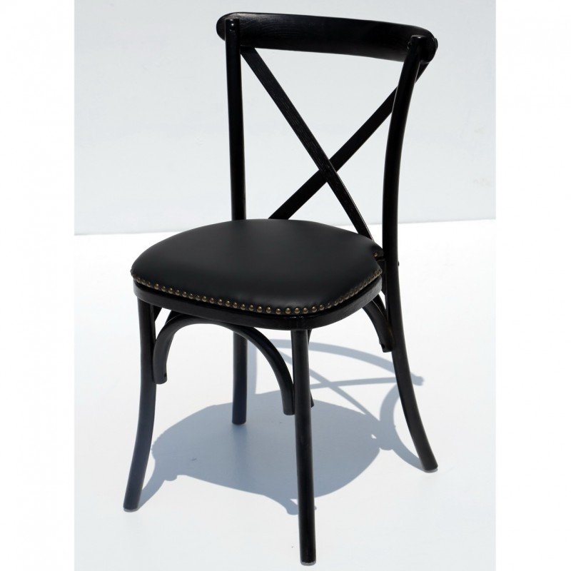 כסא איקס שחור