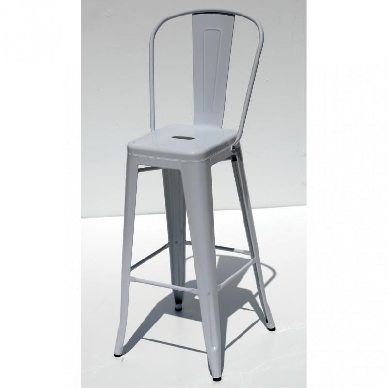 כסא בר דורתי לבן