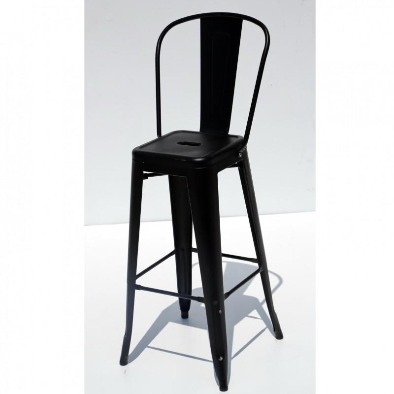 כסא בר דורתי – שחור