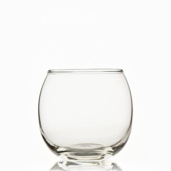כוס זכוכית כדור לקינוח