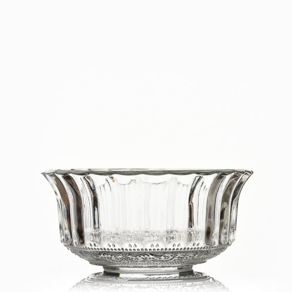 קערית זכוכית רטרו נועה
