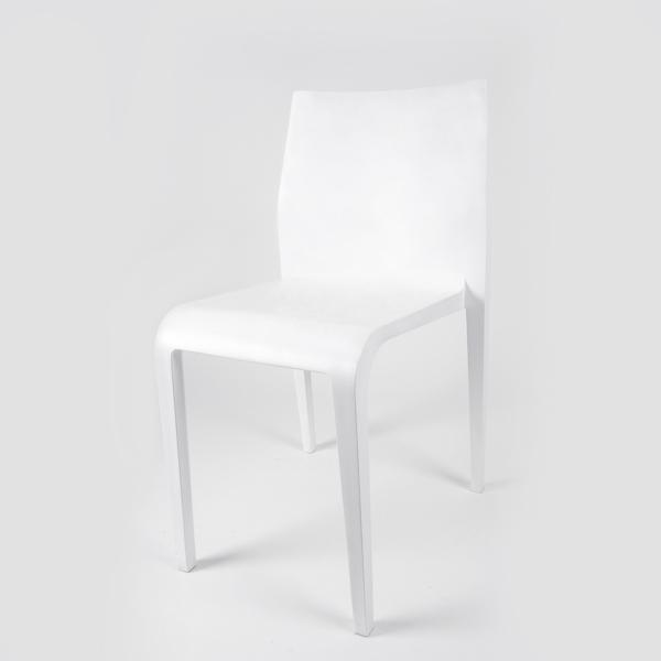 כסא לבן מעוצב