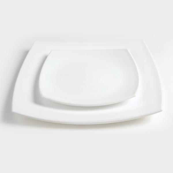 צלחת דליס חלבית