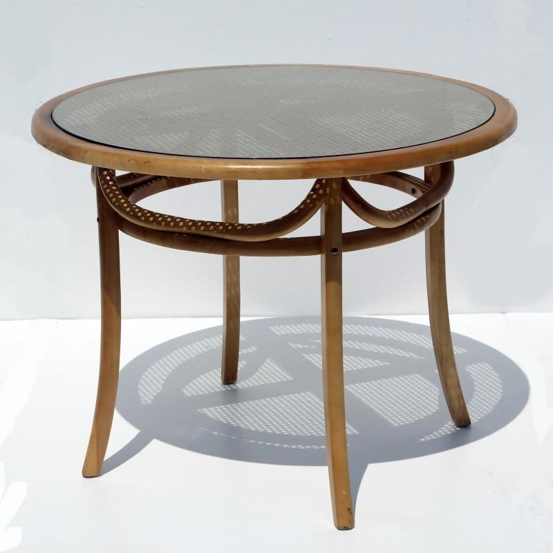 שולחן עץ טבעי – רטרו