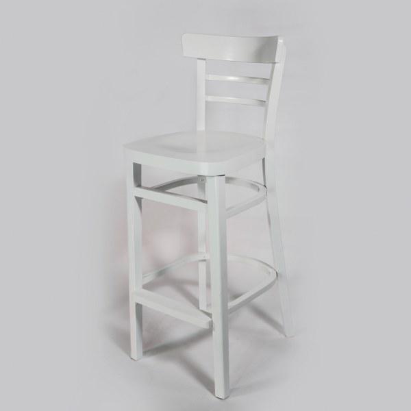 כיסא בר לבן