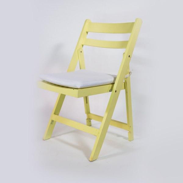 כסא עץ בננה