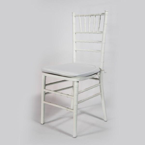 כסא פארטי צ'אר לבן