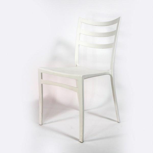 כסא יפני לבן